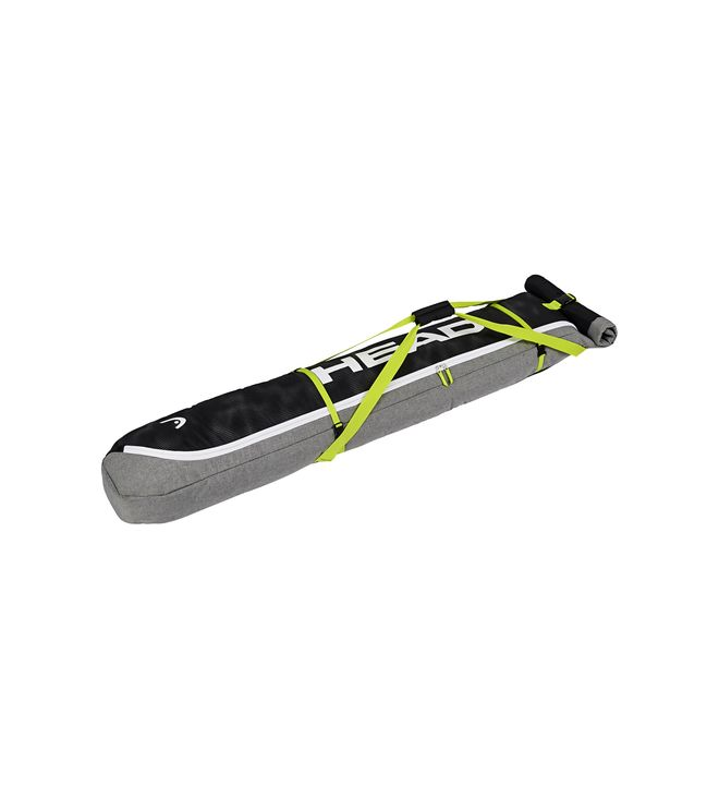 Double Skibag Antracite/Grey-Neon Yellow